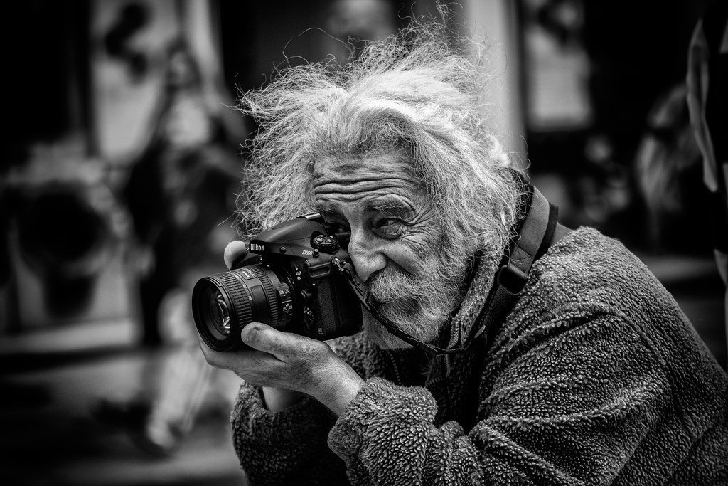 The street photographer chụp bởi steve wassell