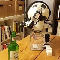 Drinky: Robot bạn nhậu đầu tiên trên thế giới ra đời tại Hàn Quốc