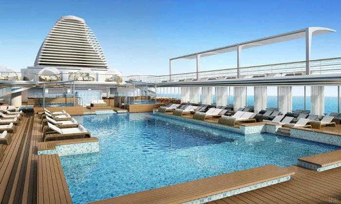 Du thuyền này có sức chứa khoảng 750 hành khách.
