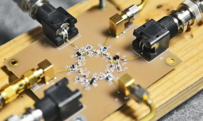 Bản mẫu của bộ truyền tuần hoàn mới có kích thước 2cm.