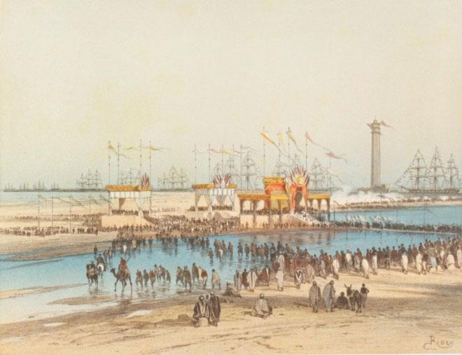 Theo kế hoạch, con kênh sẽ hoàn tất vào thế kỷ 3 trước Công Nguyên, dưới triều đại Ptolemy.
