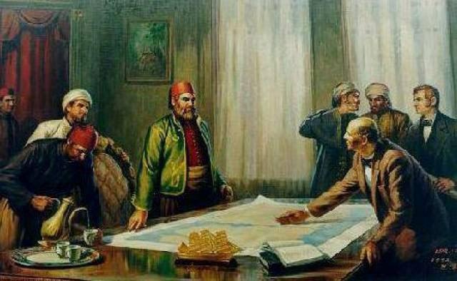 Kế hoạch xây dựng kênh đào Suez chính thức bắt đầu từ năm 1854.