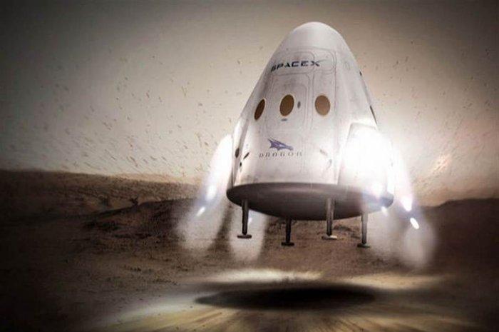 Tàu vũ trụ Dragon của SpaceX.