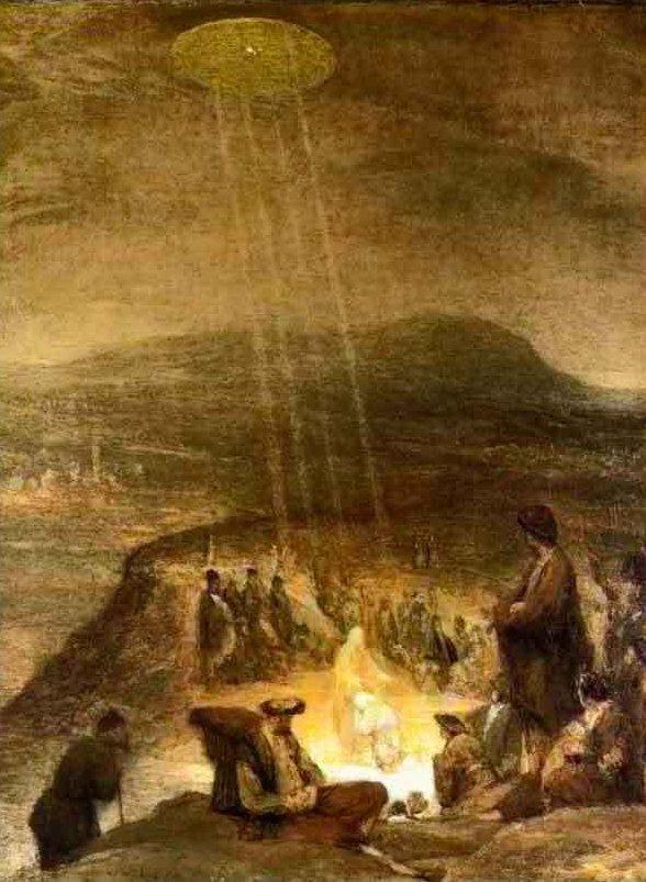 """Bức tranh """"Lễ thanh tẩy của Chúa Jesus""""."""