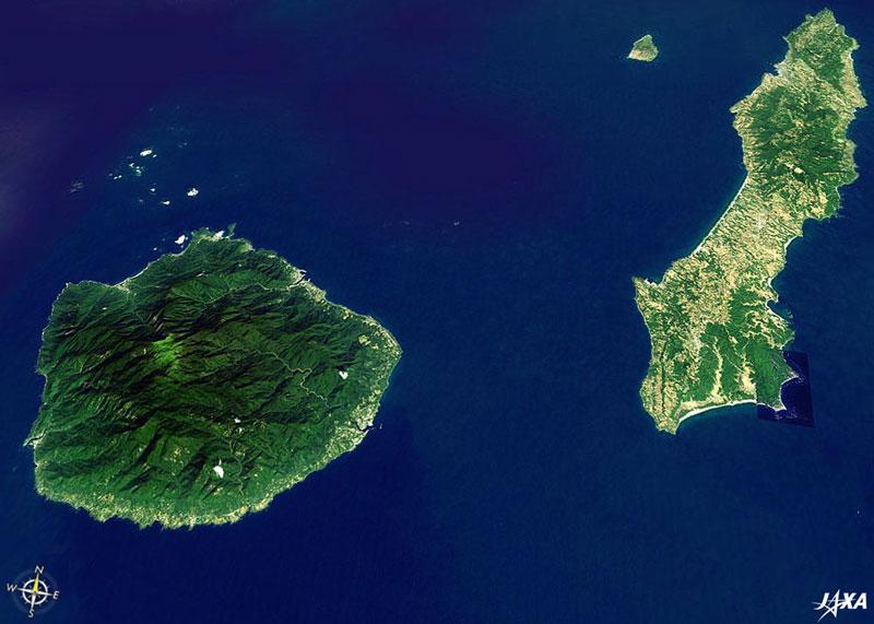Hòn đảo này có hình ngũ giác kỳ lạ