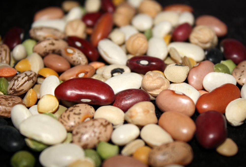 Đậu Hà Lan, đậu lăng, đậu xanh... đều được coi là biểu tượng của tiền bạc.