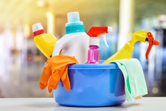 Sản phẩm làm sạch nhà bếp.