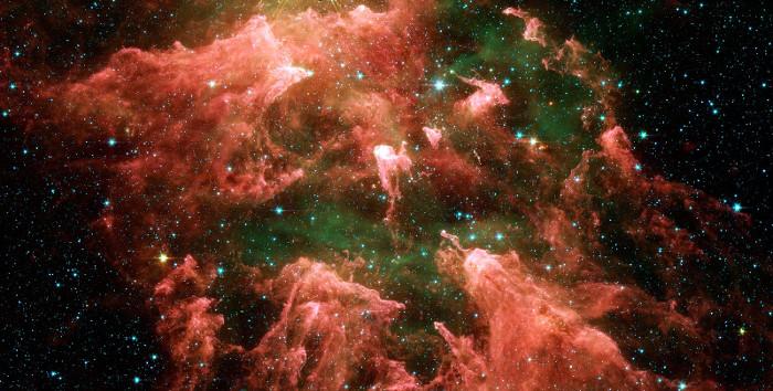 Vũ trụ phình ra nhưng không sụp đổ sau vụ nổ Big Bang.