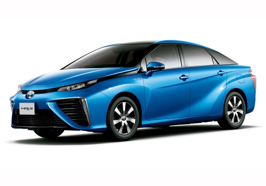 Hãng xe Nhật Toyota đã cho ra đời mẫu xe Mirai có thể chuyển hóa hydro thành điện mà không để lại bất cứ khí thải nào trừ nước.