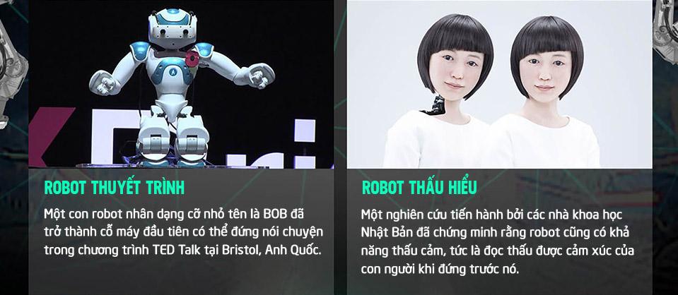 Robot thuyết trình