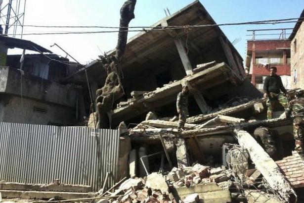 Trận động đất này được nói là nghiêm trọng nhất Imphal từ trước tới nay.