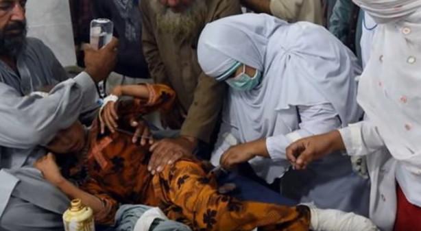 Người bị thương đang được điềi trị tại bệnh viện.