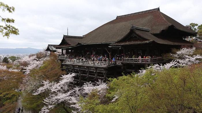 Di sản văn hóa cố đô Kyoto là một quần thể gồm nhiều chùa chiền Phật Giáo; đền thờ đạo Shinto; Lâu đài Hoàng gia...
