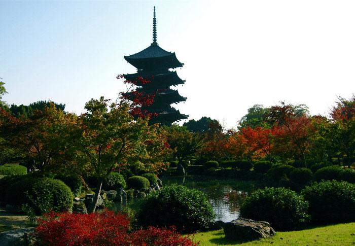 Cảnh quan thiên nhiên, cảnh quan văn hóa tại Kyoto...nơi nào cũng đẹp như trong tranh