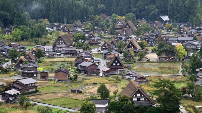 Hai ngôi làng này rất nổi tiếng tại Nhật Bản bởi các ngôi nhà ở đây đều được xây dựng theo kiến trúc gassho-zukuni.