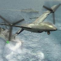 Mỹ chế tạo máy bay không người lái hạ cánh bằng đuôi