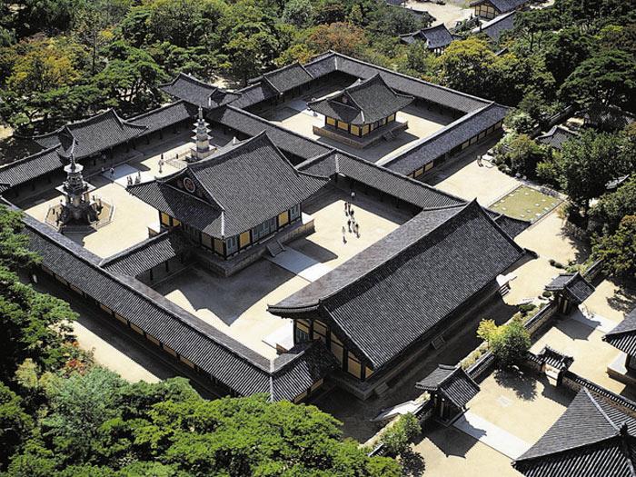 Chùa Bulguksa là ngôi tự viện lớn nhất và đẹp nhất của Hàn Quốc.