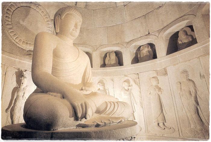 Seokguram là là di tích lịch sử vĩ đại nhất của Hàn Quốc