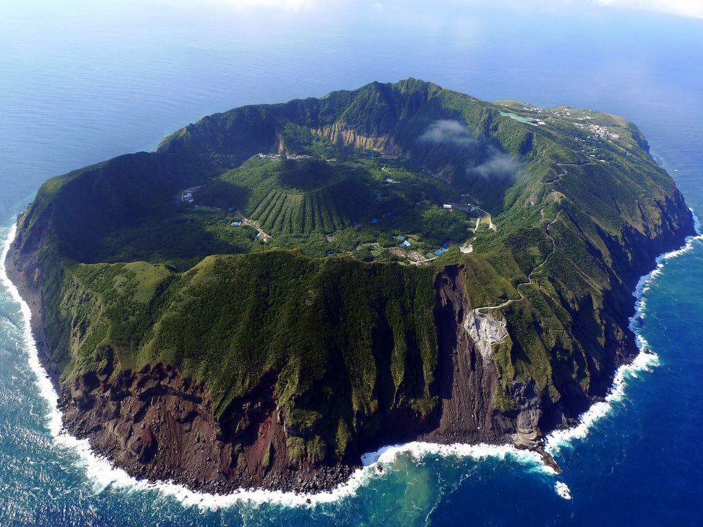 Núi lửa Aogashima, Nhật Bản