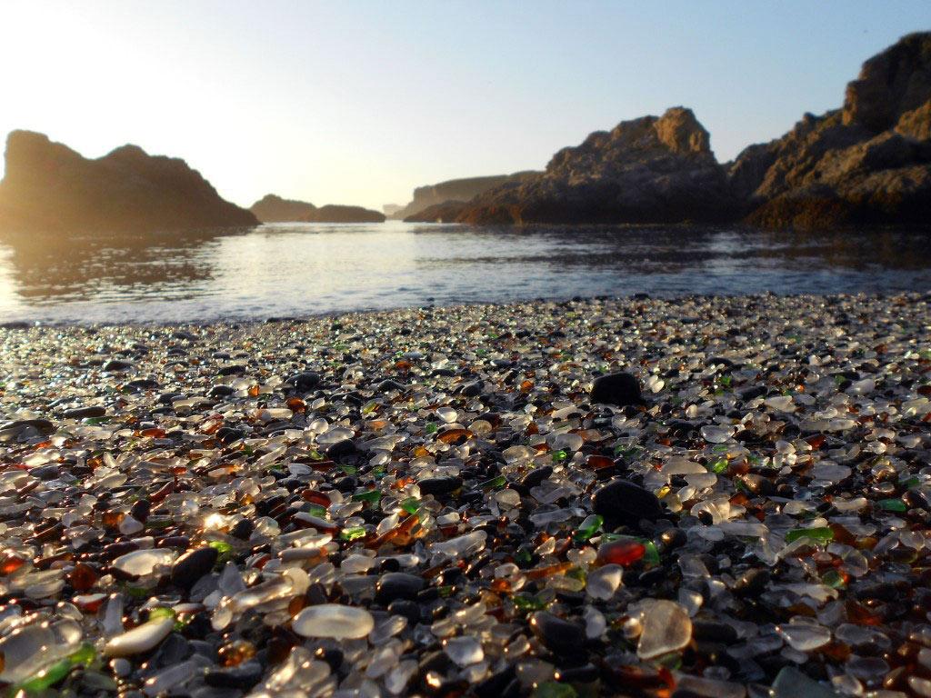 Bãi biển thủy tinh, California, Hoa Kỳ