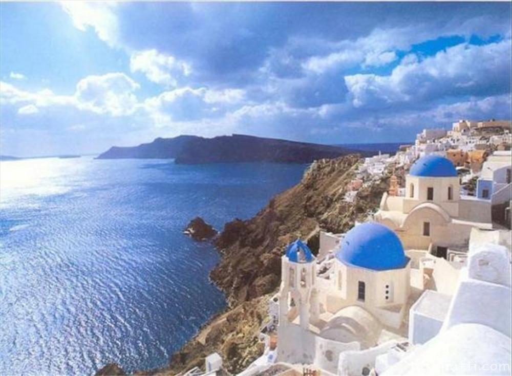 Hòn đảo Santorini, Hy Lạp