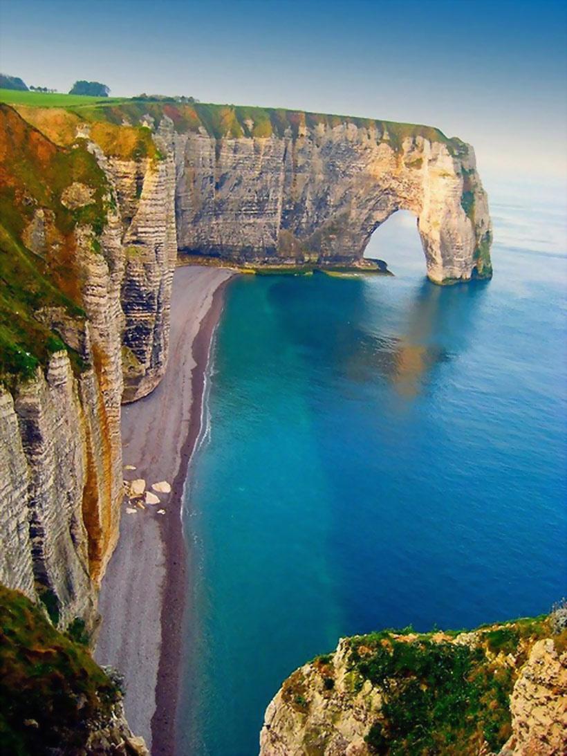 Biển Cliffs, Etretat, Pháp