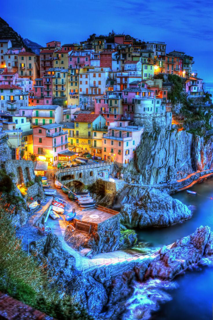Cinque Terre, ngôi làng Rio Maggiore, Ý