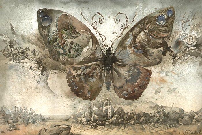 """Câu chuyện của Bradbury đã lần đầu tiên đưa ra khái niệm """"Hiệu ứng bươm bướm""""."""