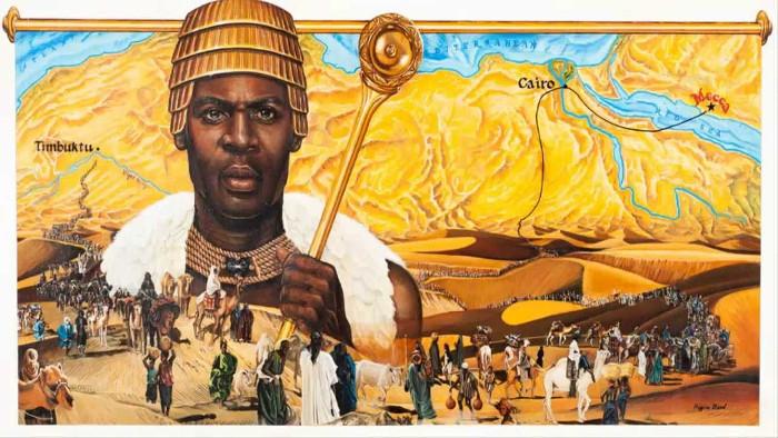 Cho đến nay vẫn chưa một ai có thể sánh ngang hàng với Mansa Musa.