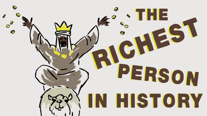 Chắc hẳn bạn sẽ phải ngạc nhiên khi biết ai là người giàu có nhất trong lịch sử nhân loại.