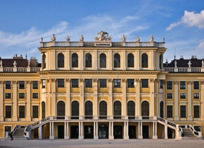 Kiến trúc bên ngoài của cung điện