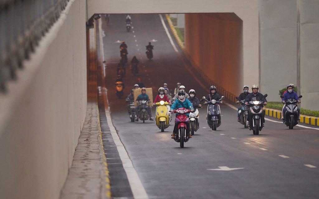 Hầm chui Thanh Xuân là dự án phức tạp về mặt kỹ thuật thi công khi tại đây cùng một lúc có thêm hai công trình khác là đường trên cao vành đai 3, đường sắt đô thị tuyến Cát Linh - Hà Đông.