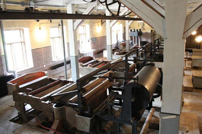 Unesco đã công nhận Nhà máy xay bột gỗ làm giấy Verla của Phần Lan là Di sản văn hóa thế giới năm 1996