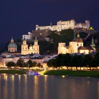 Trung tâm lịch sử của thành phố Salzburg