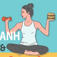 Hướng dẫn tập để thưởng thức đồ ăn nhanh thoải mái không sợ tăng cân