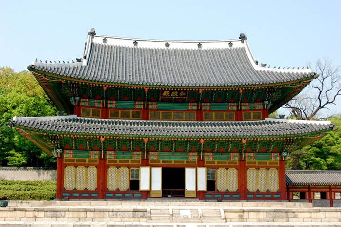 Cung điện Changdeokgung  được xây dựng năm 1405