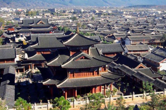 Thành cổ bắt đầu được xây dựng vào cuối thời nhà Tống, đầu thời nhà Nguyên (cuối thế kỷ thứ III trước CN).