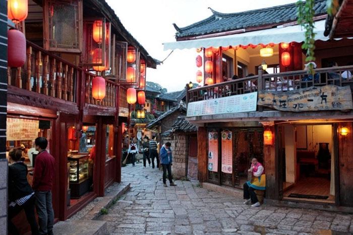 thành cổ Lệ Giang là một thành phố lịch sử văn hóa nổi tiếng giá trị tổng hợp và giá trị chỉnh thể tương đối cao