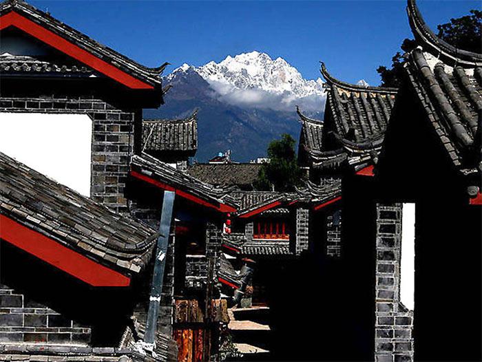 Unesco đã công nhận Thành cổ Lệ Giang của Trung Quốc là Di sản văn hóa thế giới năm 1997