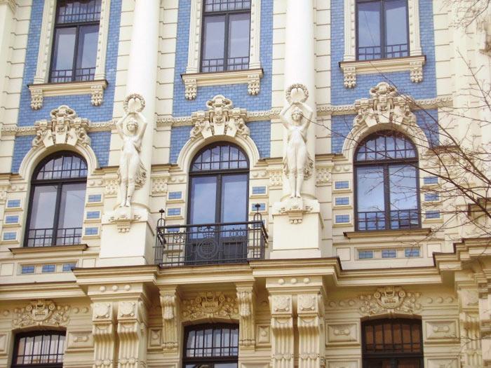 Riga chịu sự ảnh hưởng sâu sắc từ văn hóa Tây Âu