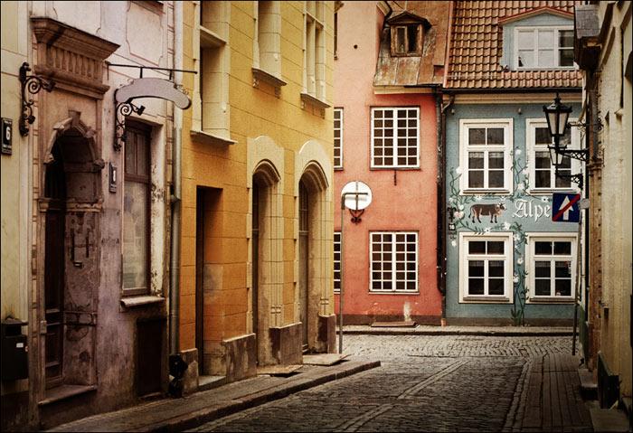 Những con phố cổ đẹp như trong tranh