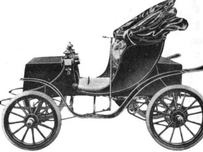 Xe hơi chạy điện mang thương hiệu Wood của Nữ hoàng Victoria năm 1906
