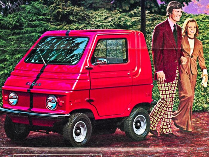 Một trong những mẫu xe đầu tiên của Elcar.