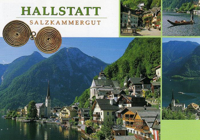 Hallstatt là thành phố nằm ở khu vực phía Bắc của nước Áo