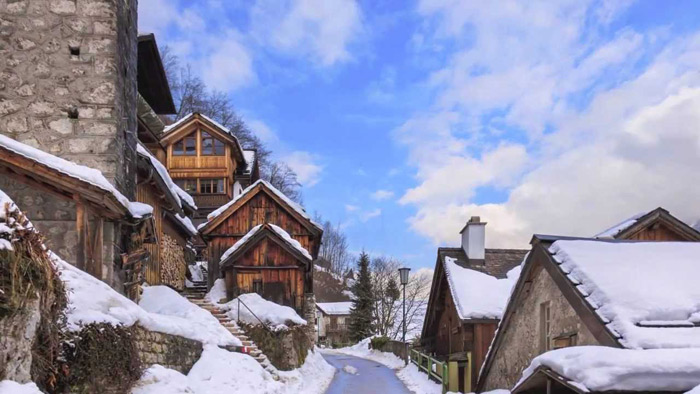 Cảnh quan văn hóa Hallstatt-Dachstein vùng Salzkammergut của nước Áo được unesco công nhận là Di sản văn hóa thế giới năm 1997.