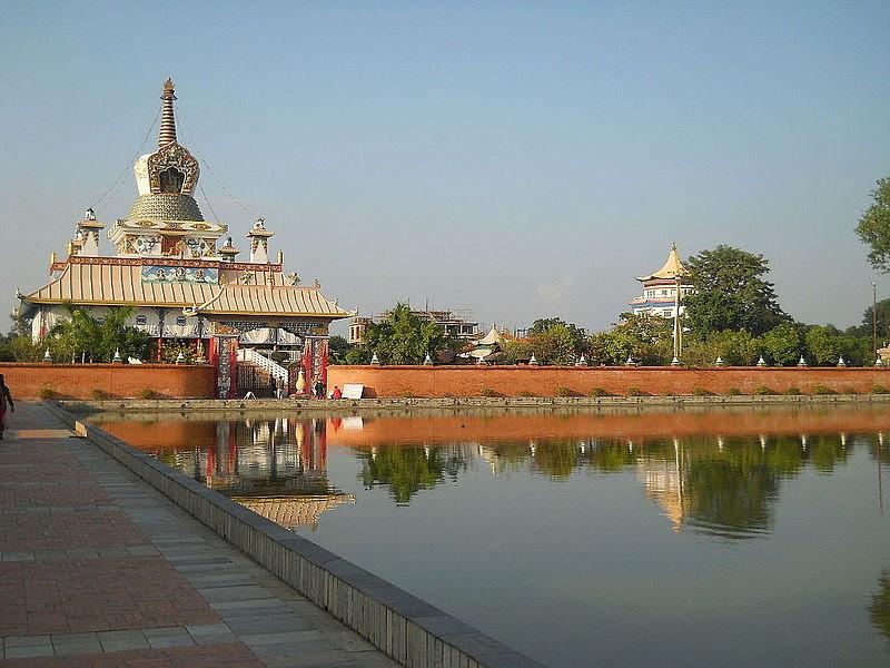 Lumbini, nơi sinh của Phật Thích Ca của Nepal được Unesco công nhận là Di sản văn hóa thế giới năm 1997.