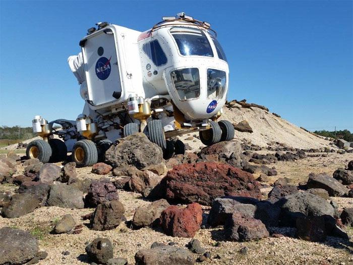Chiếc xe SEV này đã được NASA thiết kế một cách đặc biệt.