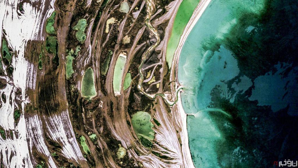Đảo Mansel hoang vắng không người thuộc quần đảo Bắc cực, Canada.