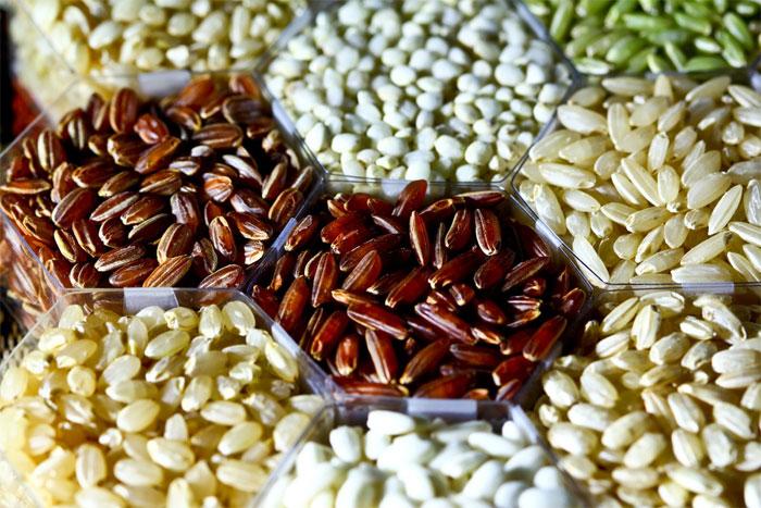 """Gạo trắng chính là sản phẩm từ gạo nâu """"biến hình""""."""