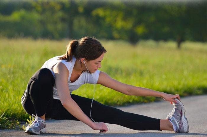 Đừng quên tập luyện thể dục mỗi buổi sáng.